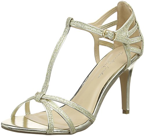 London Phoebe WoMen Paradox of by Gold Bar Gold T Pink Sandals qCaUwtR