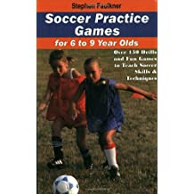 Soccer Practice Games For 6-9 Year Olds