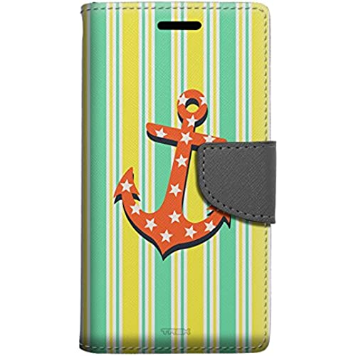 Samsung Galaxy S7 Edge Wallet Case - Anchor on Yellow Stripes Case Sales