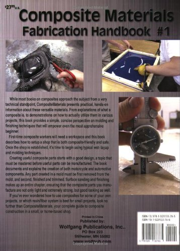 Composite Materials: Fabrication Handbook #1 (Composite Garage Series)