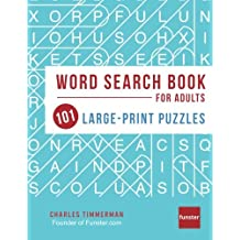 Funster Word Search Book for Adults: 101 Large-Print Puzzles