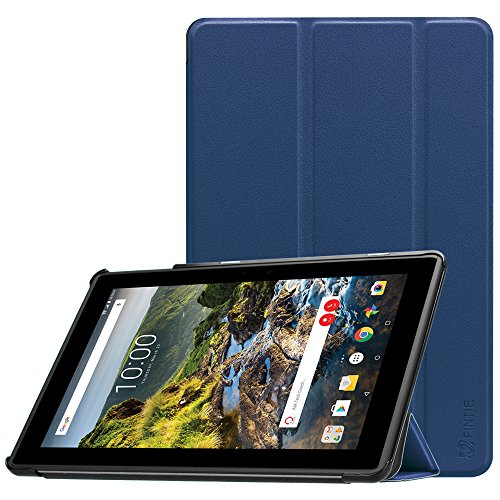 Fintie Verizon Ellipsis 10 HD Case 2017 Release - [SlimShell] Lightweight Protective Stand Cover with Auto Sleep/Wake Feature for 10 Verizon Ellipsis 10 HD (QTAXIA1) Tablet, Navy