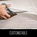 Ninja Brand Gripper Rug Pad for Hardwood Floors and Hard Surfaces, Top Gripper Adds Cushion and Maximum Protection, Works with All Types of Rugs, Pads Available in Many Sizes