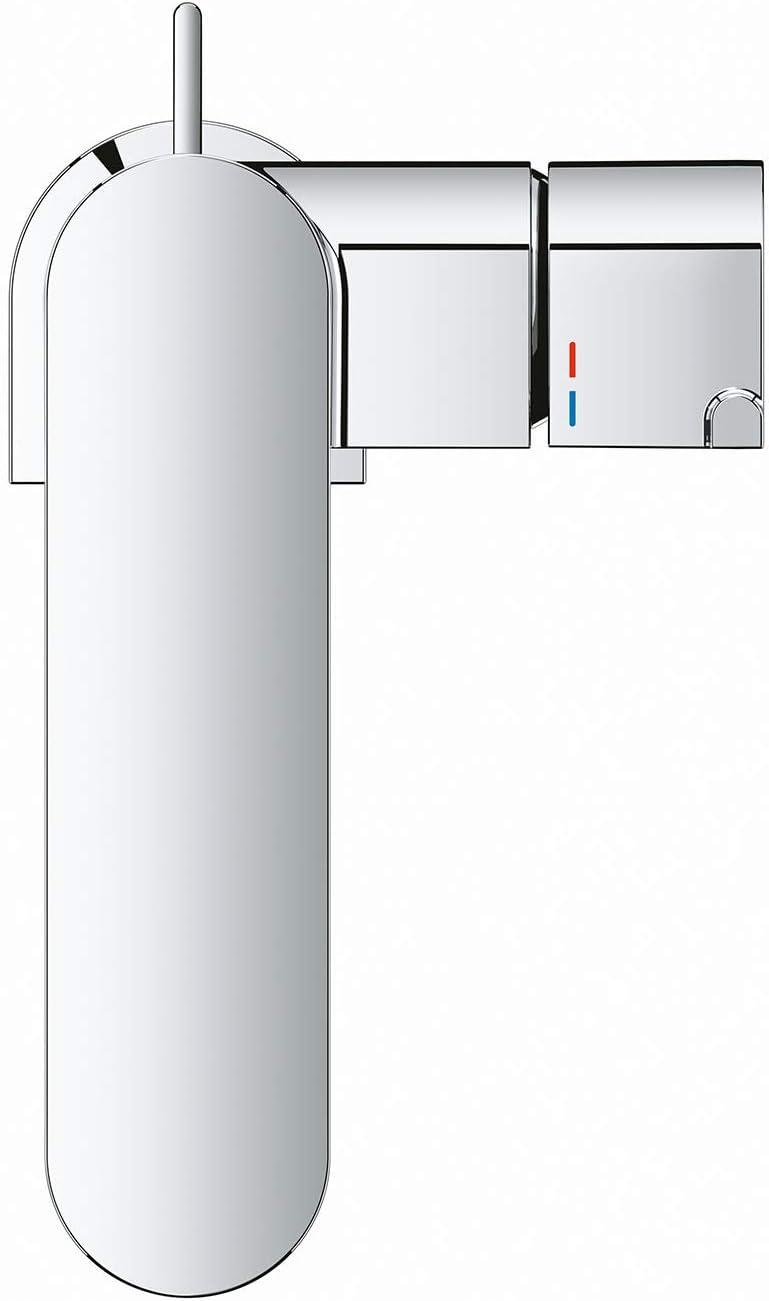 Taglia M Grohe 23871003 Plus Miscelatore Monocomando per Lavabo