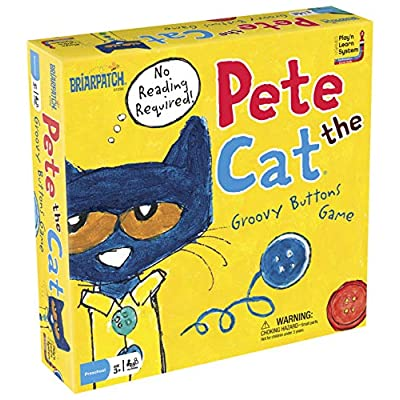 Pete the Cat Groovy Buttons Game: Game: Industrial & Scientific
