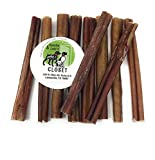 6-Inch Standard Bully Sticks for Dogs Made in USA~No Antibiotics No Growth Hormones, Grain-Free Dog Chews by Sancho & Lola's