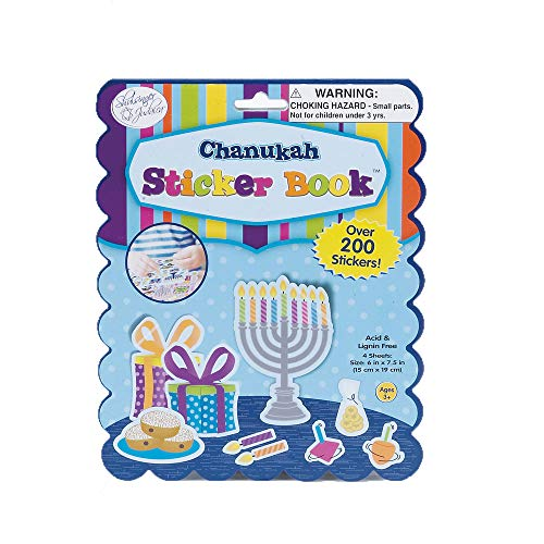 Chanukah Sticker Book - Over 200 stickers ()