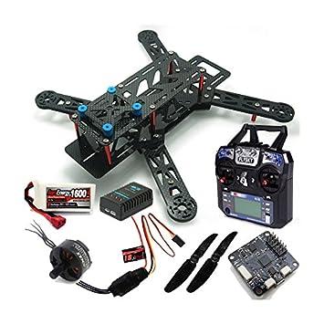 RCTecnic FPV-250 Racing Drone Carbon (RTF): Amazon.es: Juguetes y ...