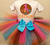 Coco Personalized Birthday Outfit Tutu Set