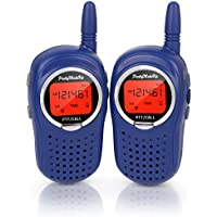 Walkie Talkies for Kids, 22 Channel FRS/GMRS Walkie Talkie 2 Way Radio 3 Miles UHF Walkie Talkies (1 Pair) Blue, Toys for 5-year Old Boys and Girls