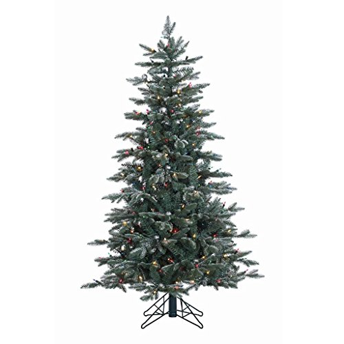 Vickerman Crystal Balsam 514-Tip Christmas Tree with 300 ...