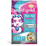 Solid Gold Mighty Mini Grain-Free natural Chicken, Chickpeas and Pumpkin Dry Dog Food for Toy and Small Breed 4 lb