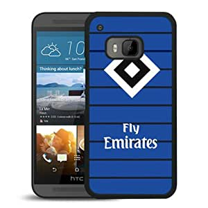Fashion And Antiskid Cover Case For HTC ONE M9 With Hamburger Black Phone Case 2