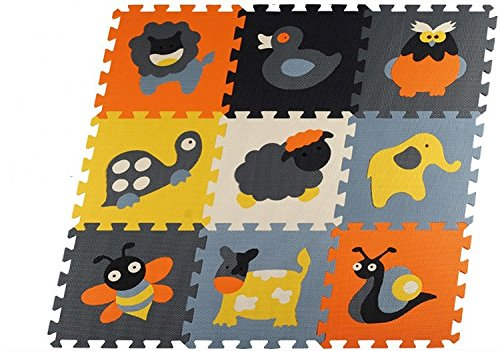 Educational Baby play Mat Puzzle mat Environmental Non-toxic Crawling Mat Kids Gym Play Mat Educational