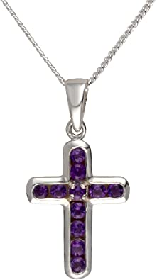 SADNESS N Cross Necklace Silver Simple Cross Pendant from Silver or Gold Color for Women