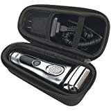 Aproca Hard Travel Storage Case compatible With Braun Series 7 9 9293s 9290CC 9095cc 9090cc 790cc Men Electric Shavers Razor