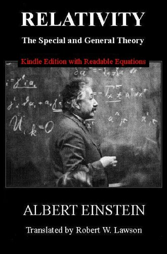 Relativity: The Special and General Theory [New Edition with Readable Equations] cover