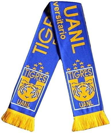 Tigres UANL Scarf Soccer Fan Scarf Premium Acrylic Knit