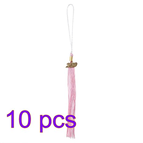 BESTOYARD Graduation Tassel with 2017 Charm for Graduate Ceremony Black