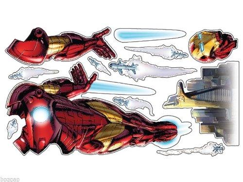 Uncle Milton - Iron Man Wild Walls - Light and Sound Room Decor (Colts Tony)