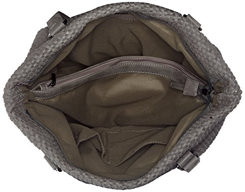 Betty Barclay Damen Shopper Bag Henkeltasche, Grau (Cool Grey), 16 x 34 x 39 cm