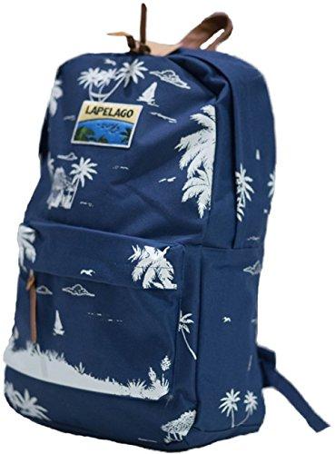 Lapelago Isle Backpack Island Pattern Carry On