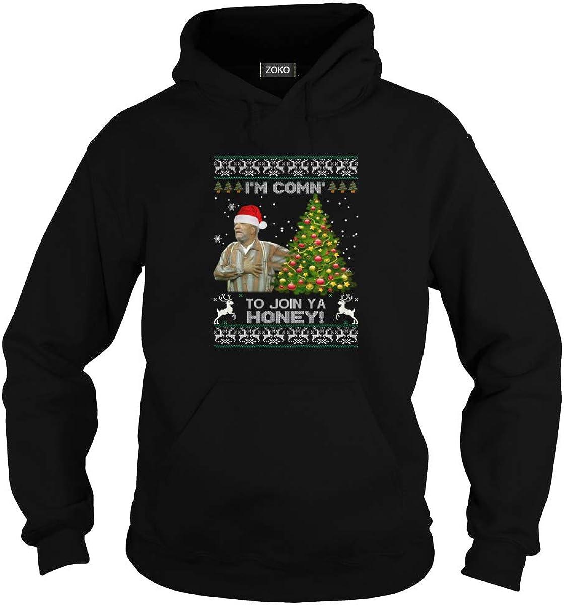 Zoko Apparel Im Comn to Join Ya Honey Ugly Christmas T-Shirt