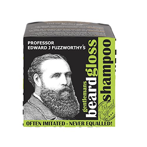 Professor Fuzzworthy's APPLE TONIC BEARD SHAMPOO BAR Light Refreshing 100% Natural Premium Ingredients Promotes Healthy Beard Growth. The 4 oz Bar equals TWO 13.5 fl oz of Liquid Shampoo
