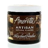 Amoretti Natural Artisan Flavor Chocolate Hazelnut Praline, 5.51 Fluid Ounce