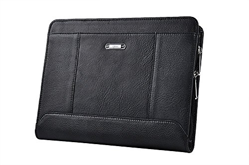 iPad Pro 10.5 Folio Case, Organizer Portfolio Case with Removable Tablet Holder for 10.5 inch iPad Pro,Black