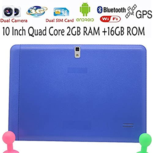 Blue Edition Original 10 Inch 3G Phone Call Android Quad Core Tablet Pc Android 4.4 2Gb Ram 16Gb Rom Wifi Fm Bluetooth 2G+16G^.2GB 16GB Coupons