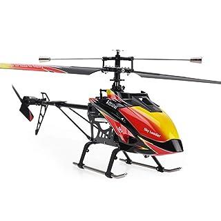 Pinjeer 2.4GHz 4ch Single-elica Rc Elicottero 70cm Built-in Gyro Giocattoli Rc Modello di Elicottero con trasmettitore LCD Giocattoli educativi Regali di Compleanno per Bambini 14+