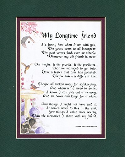 A Gift Poem Present For An Old Dear Friend, #152,