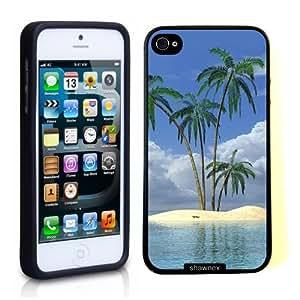 Iphone 5 Case Thinshell Case Protective Iphone 5 Case Shawnex Tropical Deserted Island Paradise Beach