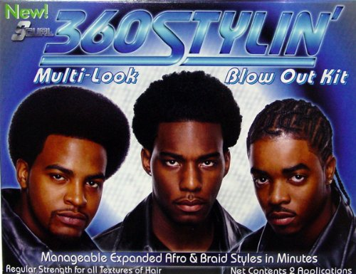 Luster's S-Curl 360 Styling Blow Out Kit (Pack of 2) Luster' s