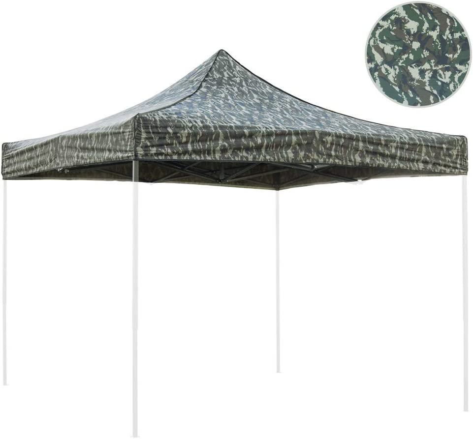 Sibrand Tela de Recambio Camuflaje 3 x 3 m para cenador Plegable ...