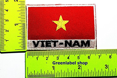 United Kingdom Costume For United Nation (Each country's flag vietnam flag Patch Logo Sew Iron on Embroidered Appliques Badge Sign Costume Send Free Registration)