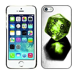 Cubierta de la caja de protección la piel dura para el Apple iPhone 5 / 5S - Fight For Kisses Funny