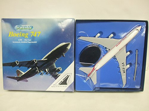 schabak-boeing-747-400-air-india-markings-1250-scale-die-cast-aircraft-with-stand