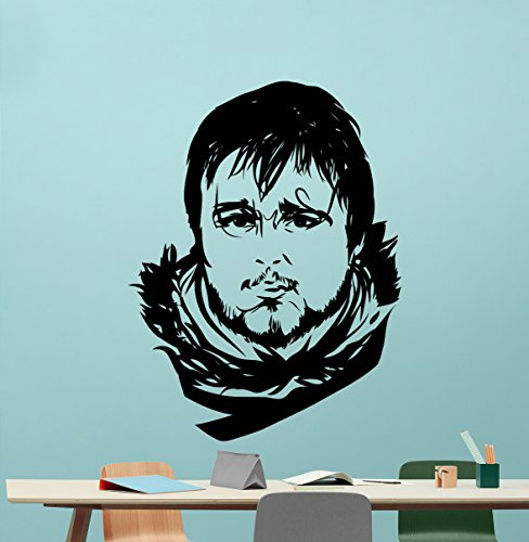 Samwell Tarly Wall Decal Game Of Thrones Vinyl Sticker Fantasy Movie Wall Art Design Housewares Kids Room Bedroom Decor Removable Wall Mural 48zzz