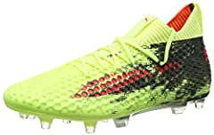 SCIENCE MEETS SUPERIOR SPORT Science meets superior sport in the FUTURE 18.1 NETFIT FG/AG. With a remarkable look, a snug, form-fitting upper, customisable lacing and a knitted ankle sock, your foot will feel secure and supported. The all-new...