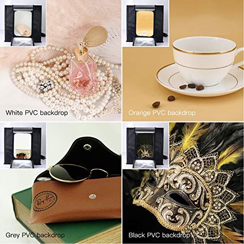 ESDDI Studio Box Adjustable Brightness Portable Folding Loop Professional Top Photography 120 Colors Backdrops