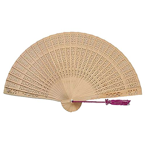 Chinese Gifts / Chinese Hand Fans: Chinese Sandalwood (Wooden Hand Fans)