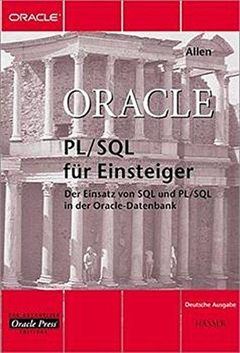 Oracle PL/SQL für Einsteiger