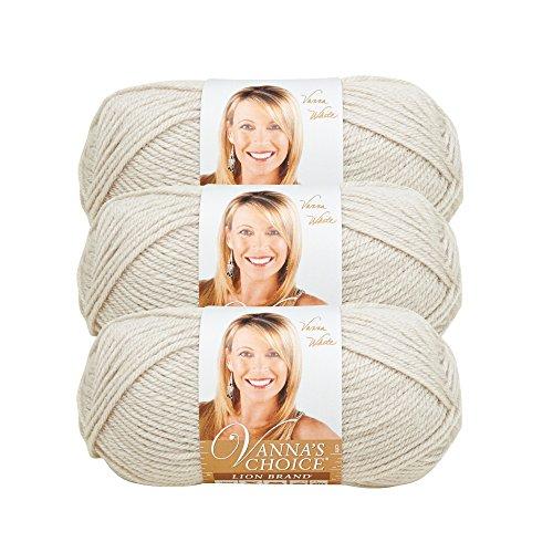 (3 Pack) Lion Brand Yarn 860-099H Vanna's Choice Yarn, ()