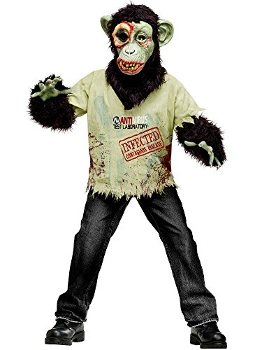 Zombie+Costumes Products : Fun World - Zombie Chimp Child Costume