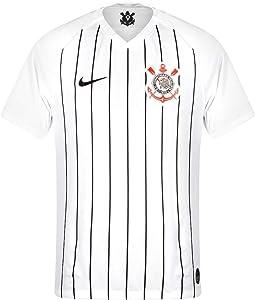 Nike 2019-2020 Corinthians Home Football Soccer T-Shirt Jersey