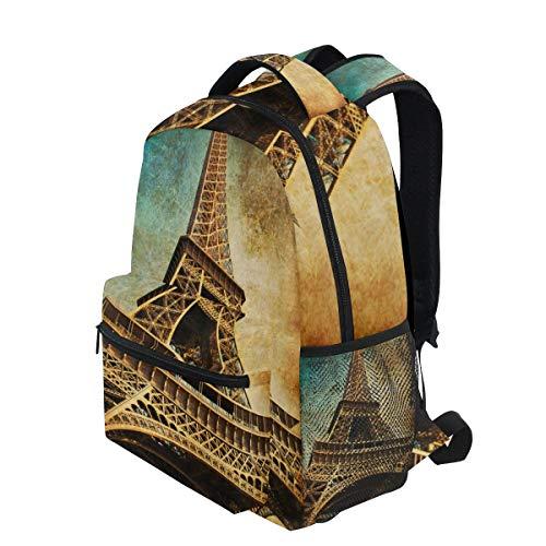 (KVMV Vintage Postcard Eiffel Tower Paris France 16