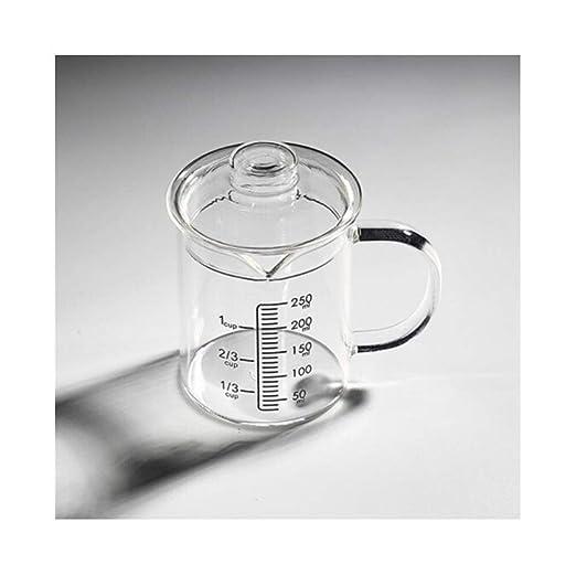 YXIAOn Vaso de Vidrio Resistente a Altas temperaturas, Vaso de ...