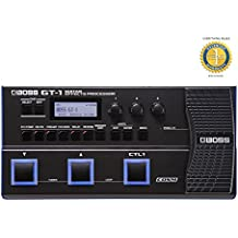 Boss GT-1 Guitar Multi-Effects Processor with Microfiber and Free EverythingMusic 1 Year Extended Warranty